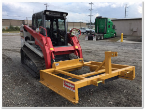 Combo Series Grader. Works with tractor or skid steer. Perfect for grading roads, drives and parking lots.